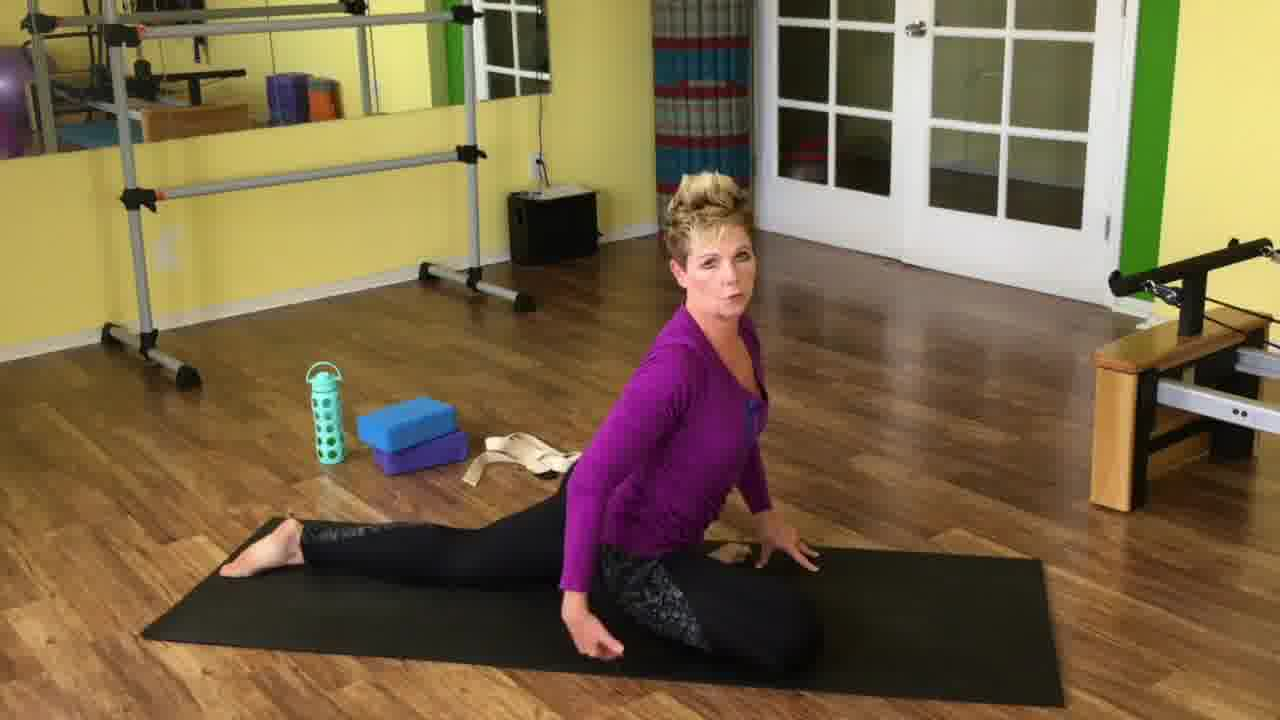get flexible with short daily yoga