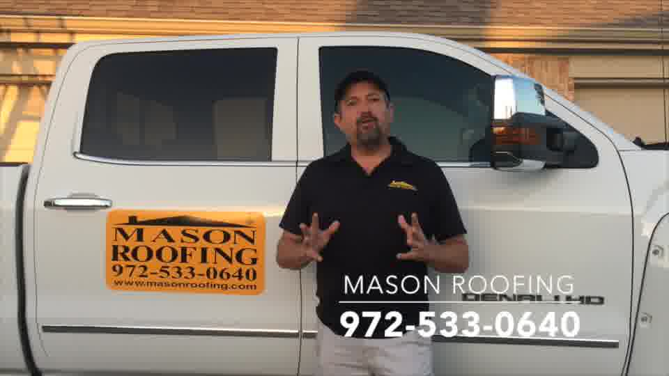 best roof repair for hail damage frisco