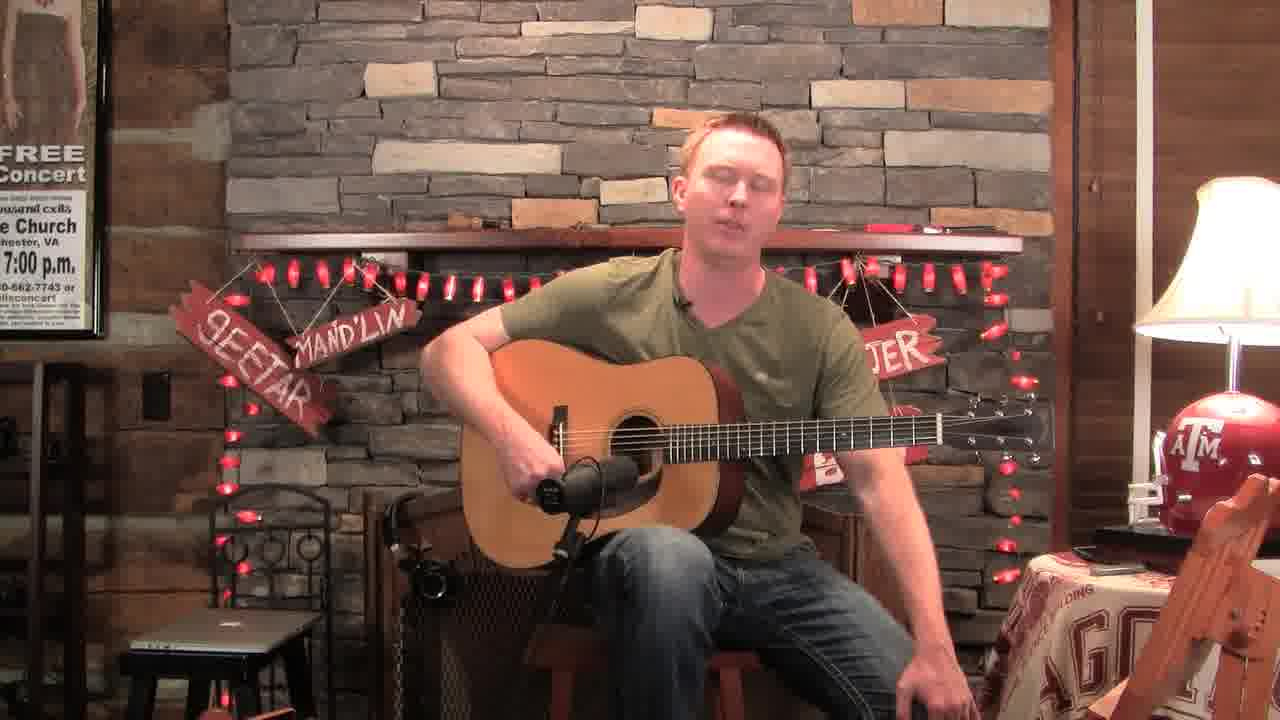 Best bluegrass guitar lesson