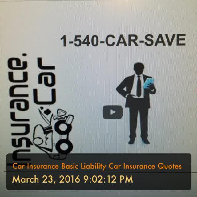 Basic Car Insurance rates