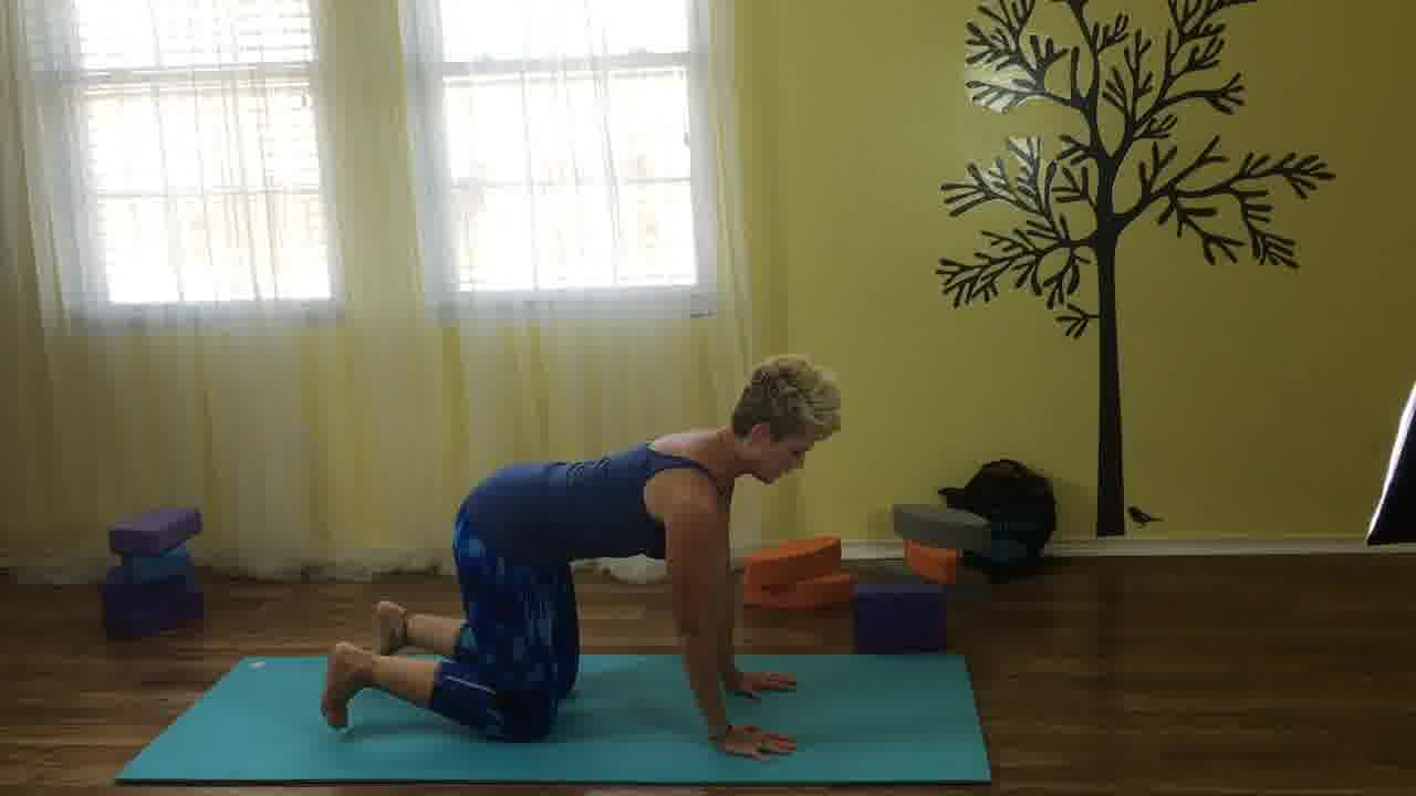 no more muscle tightness or stiffness with yoga stretches