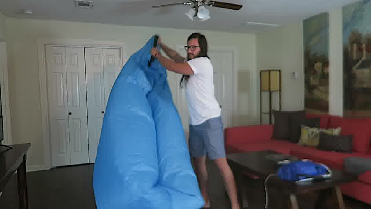 air lounger inflatable lazy bag