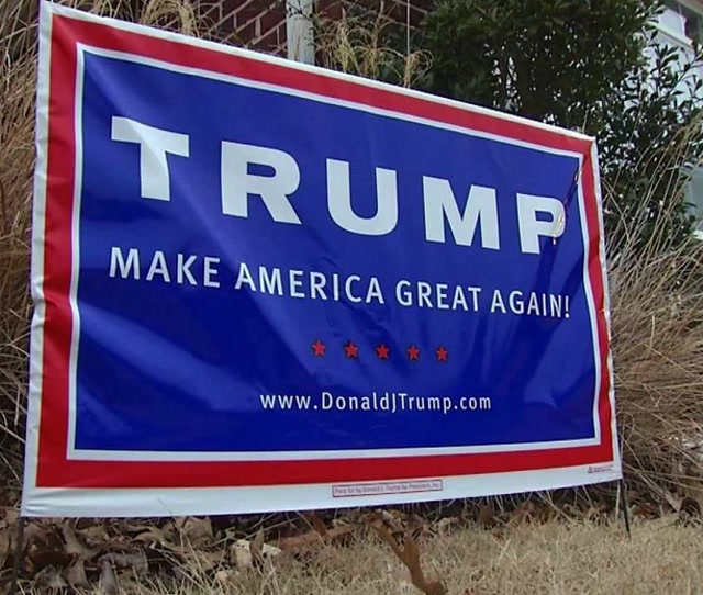 Donald Trump Yard Signs
