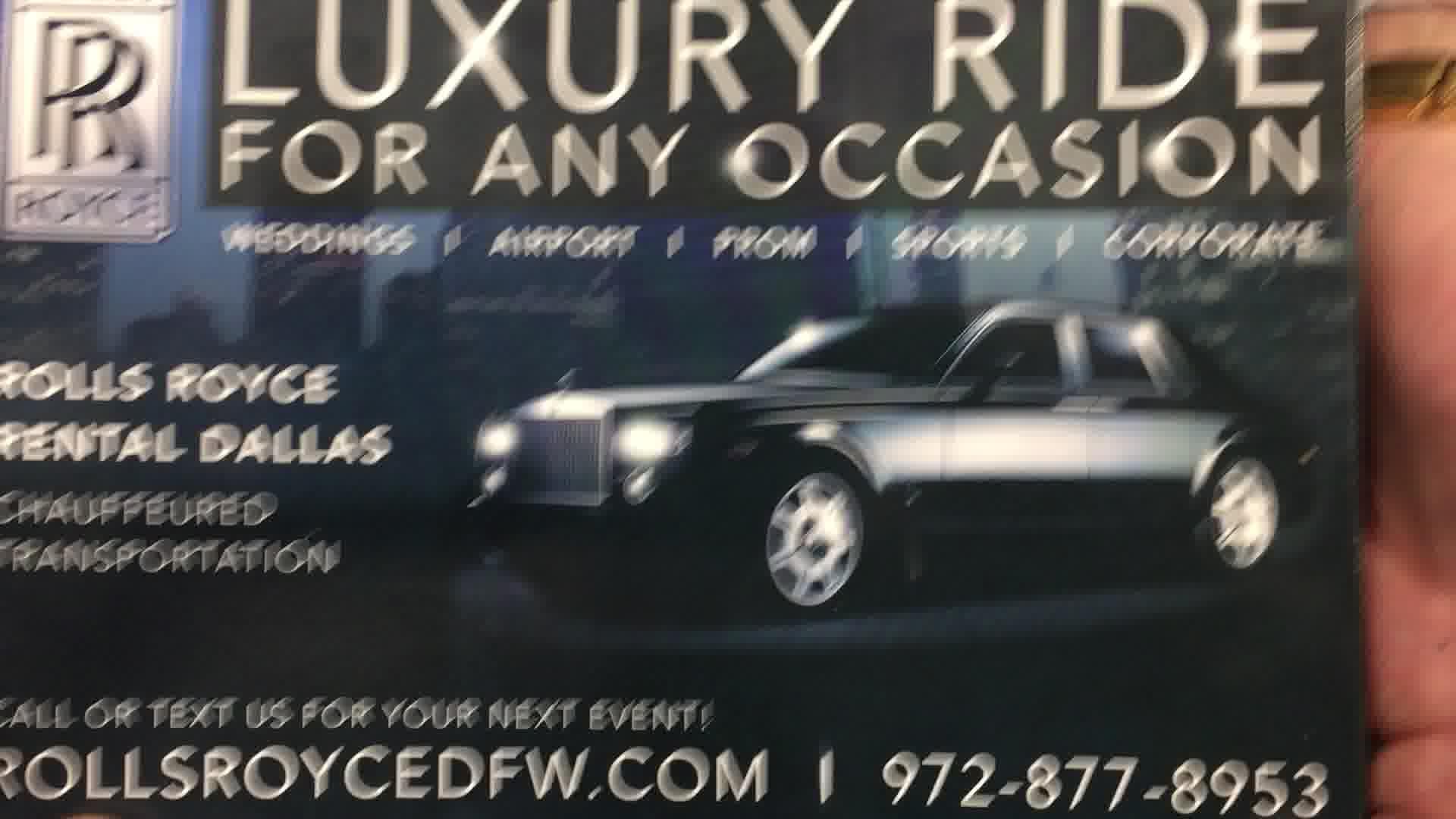 Rolls Royce limousine service Rockwall Texas