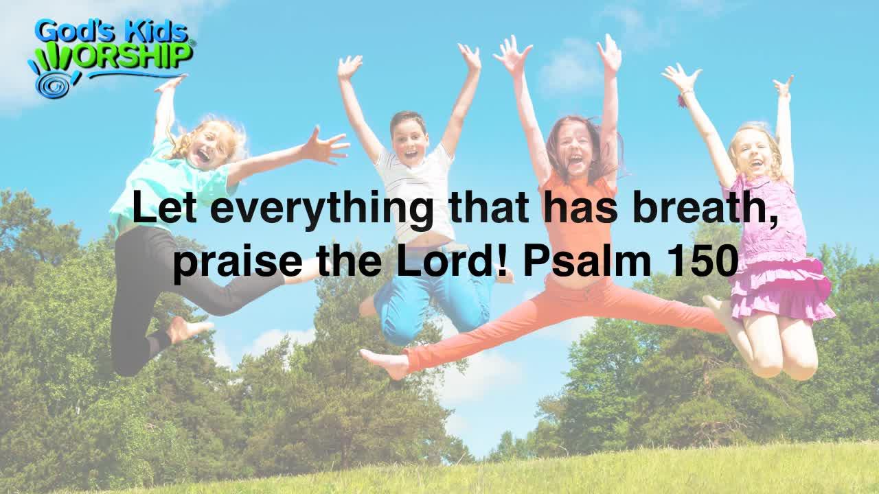 Praise songs for children