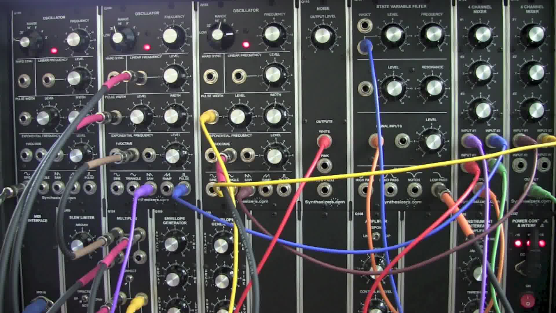 modular synth demo