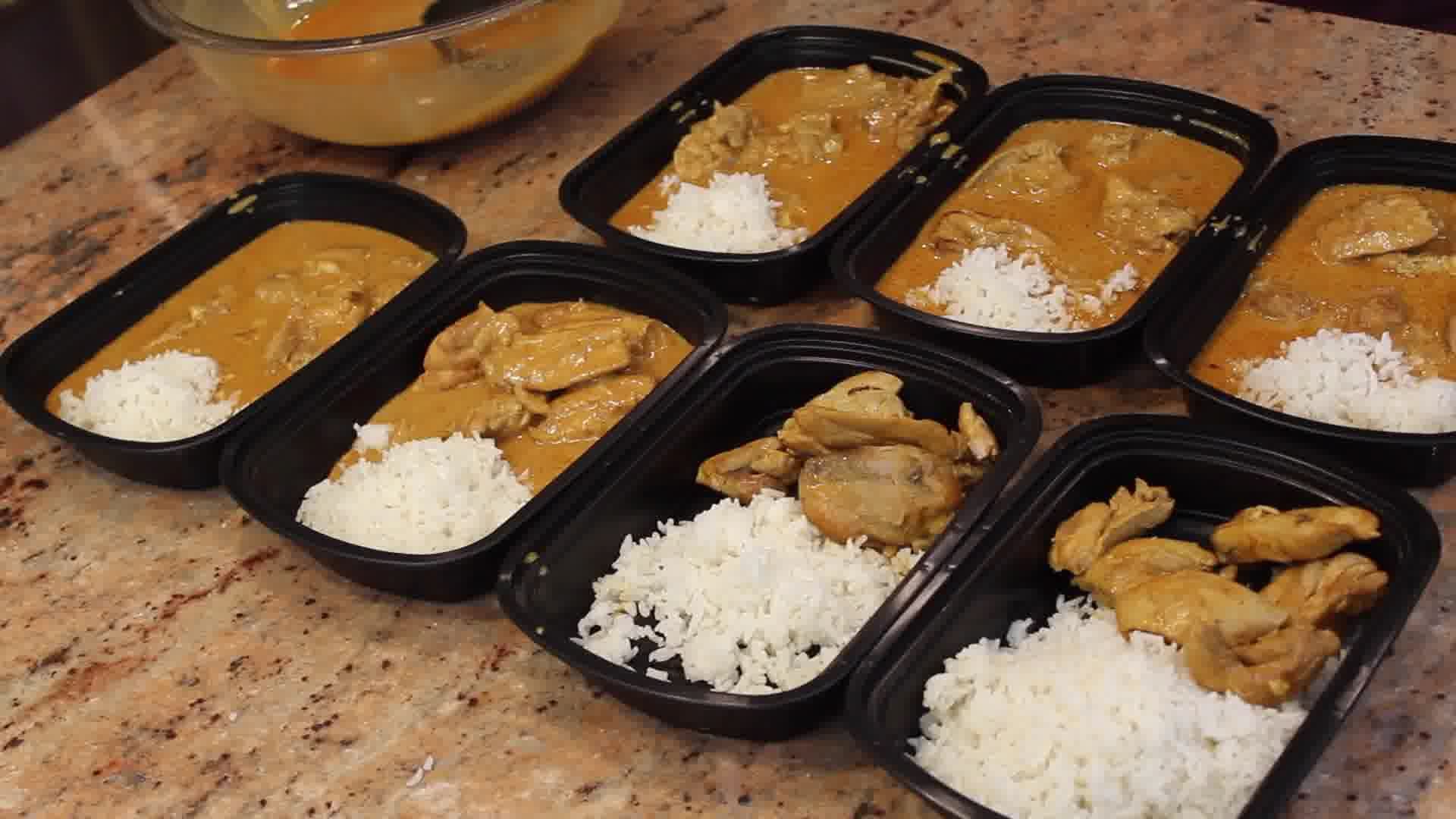 how to meal prep chicken