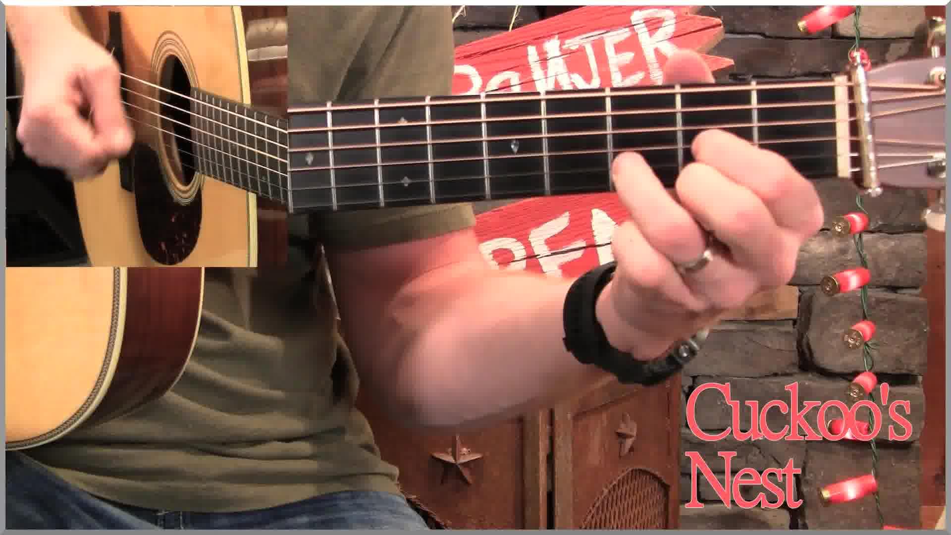 online bluegrass guitar lesson