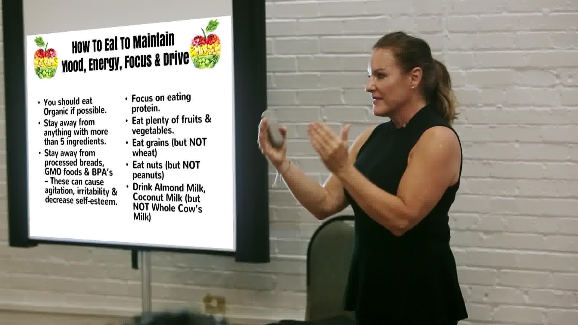 organic foods shopping list