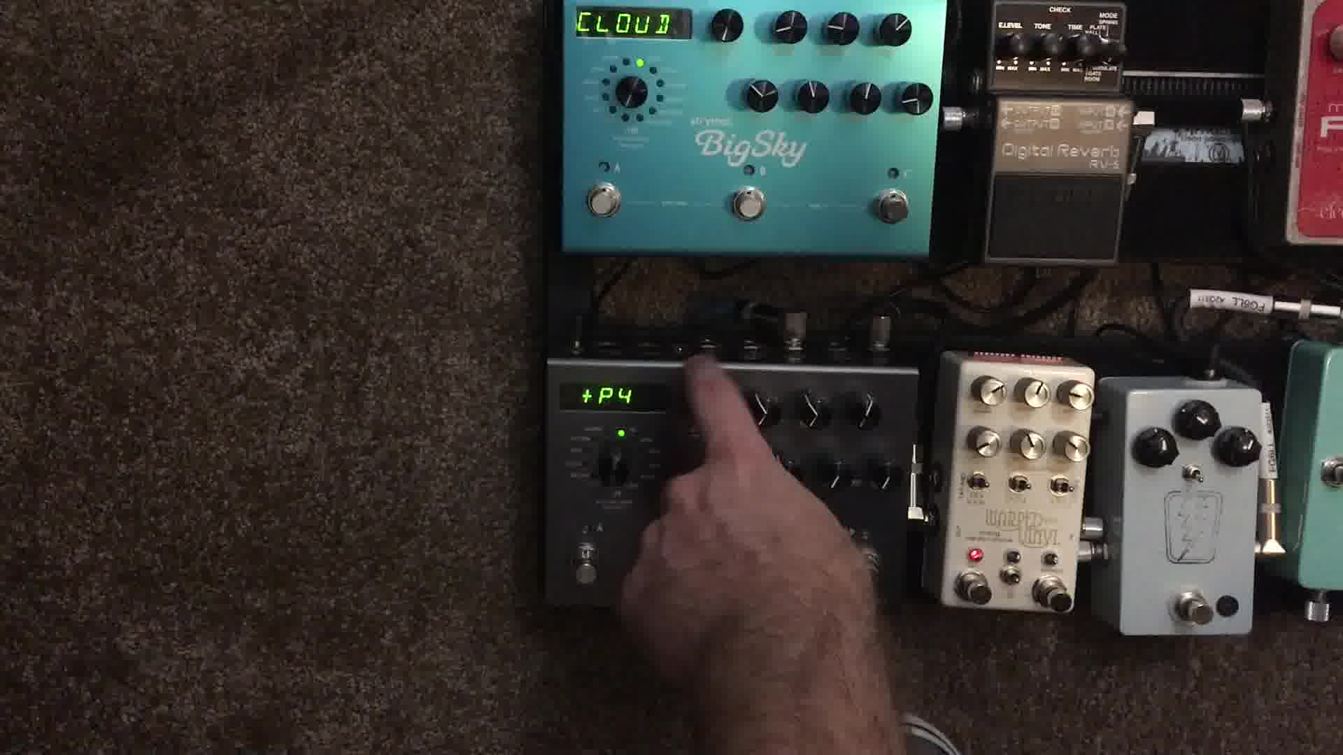 Strymon Timeline Settings