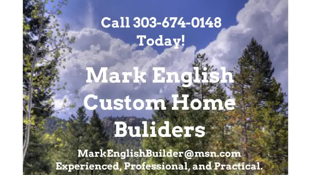Custom Home Builder in Evergreen Colo