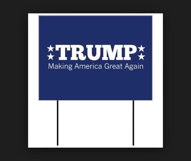 wholesale donald trump yard signs