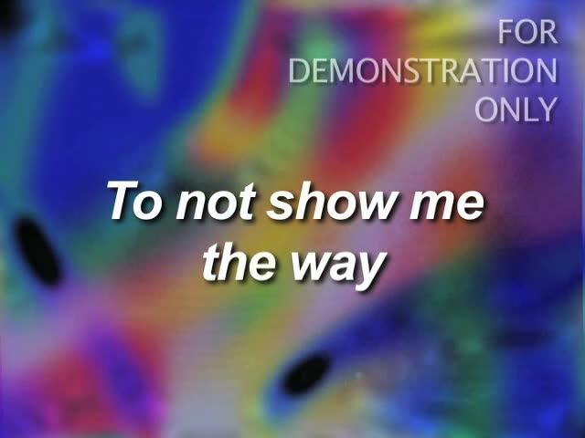 music and lyrics video