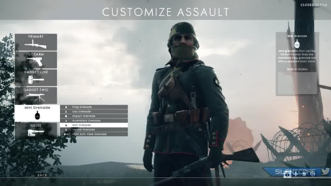 battlefield1 melee weapons