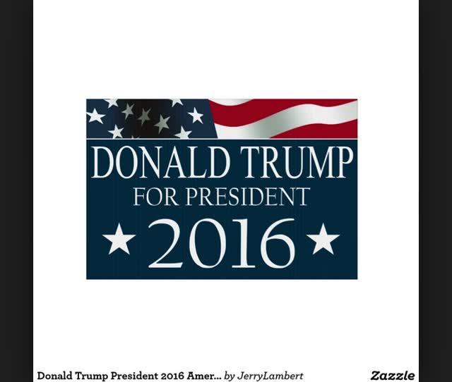 Donald Trump Yard Signs