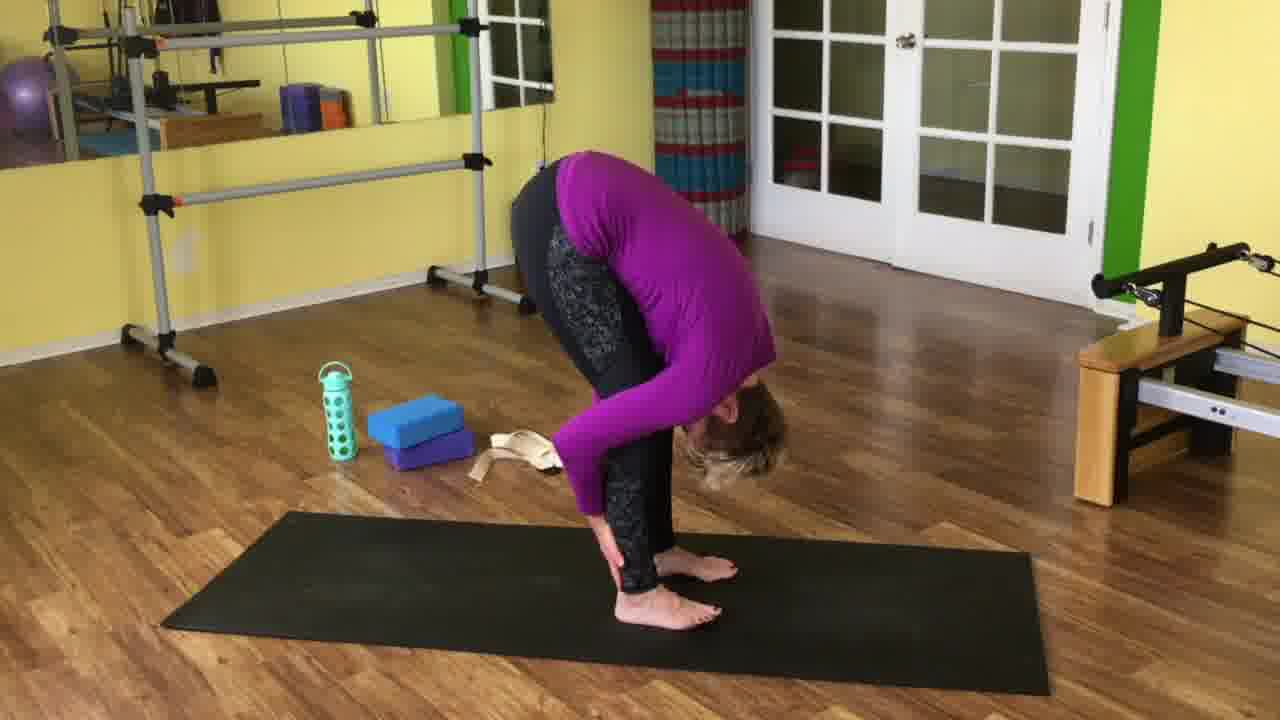 quick and easy yoga sequence