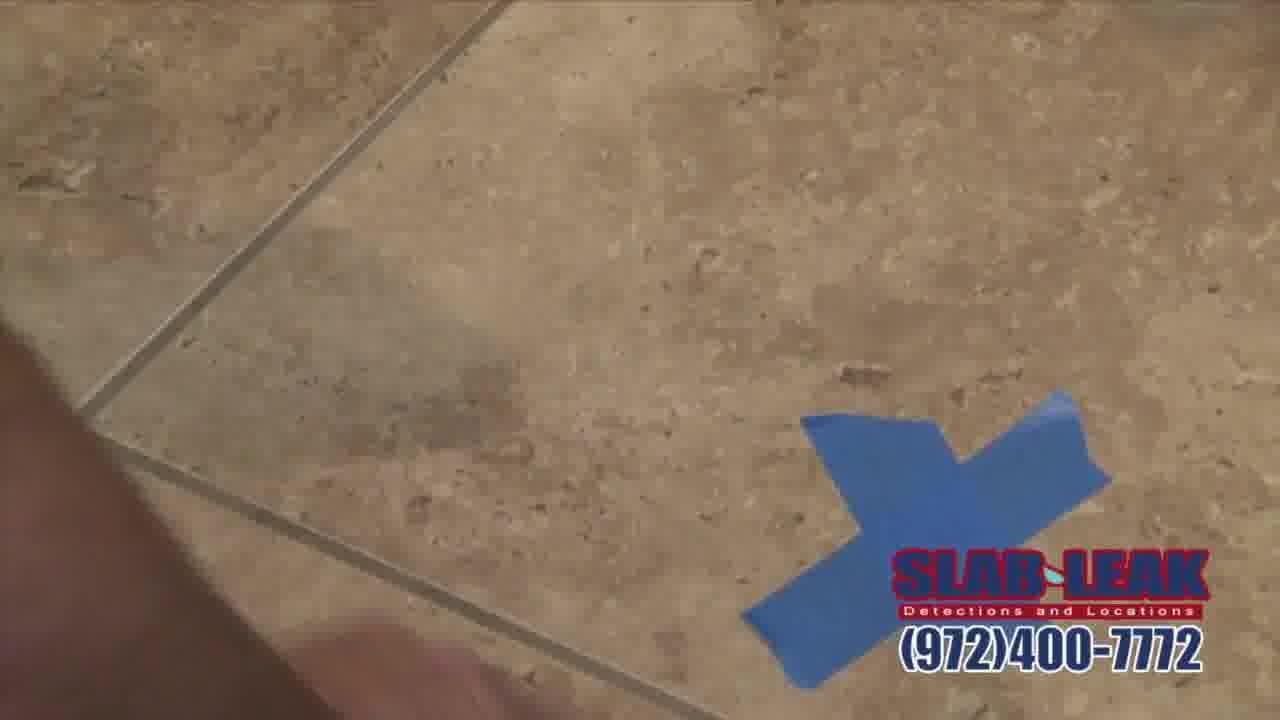 slab leak repair dallas