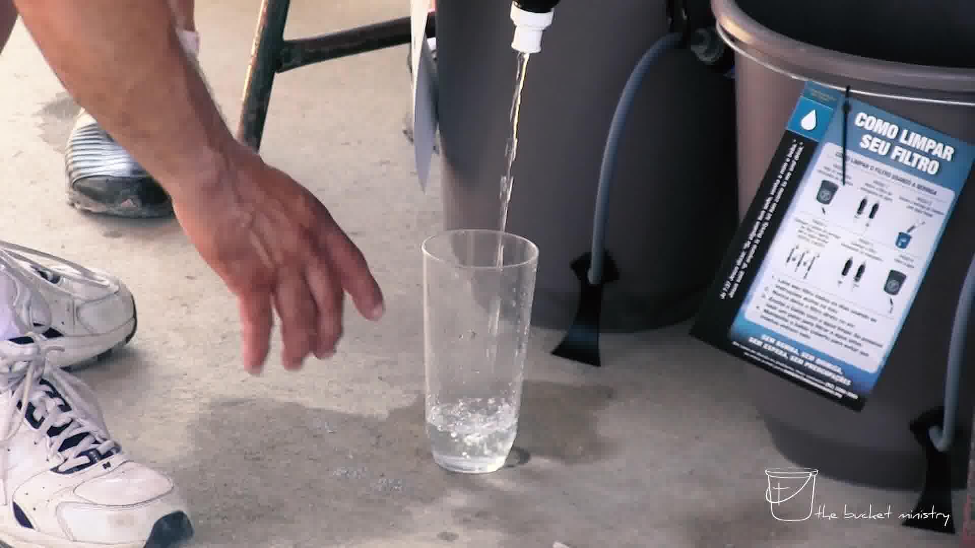 sharing God's love through clean water