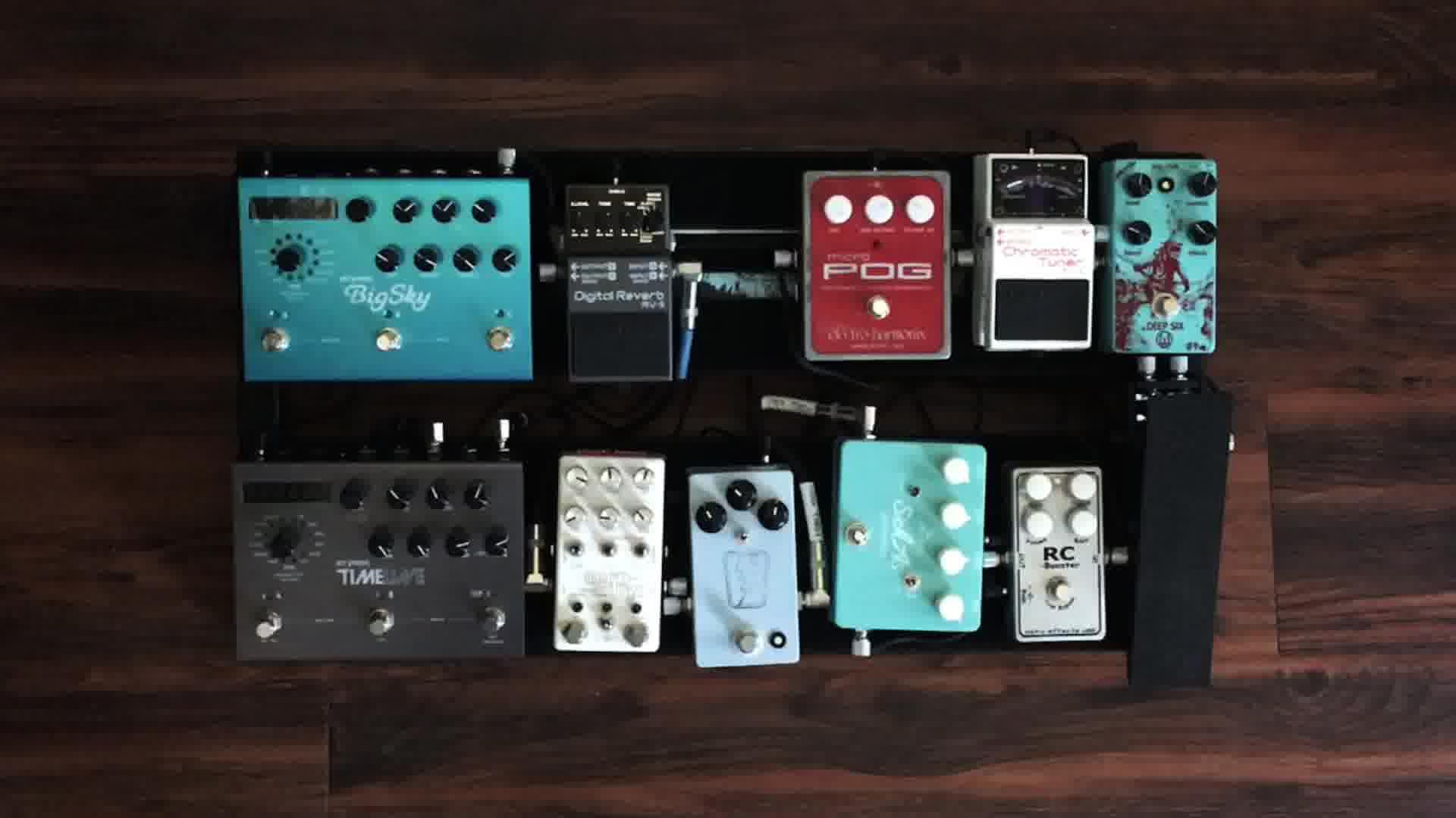 boutique guitar pedals