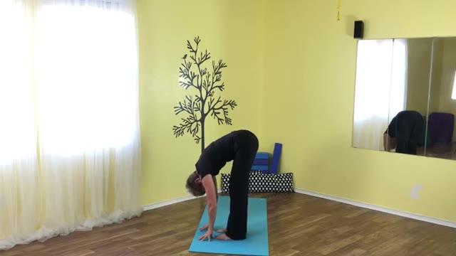 morning wake up with yoga