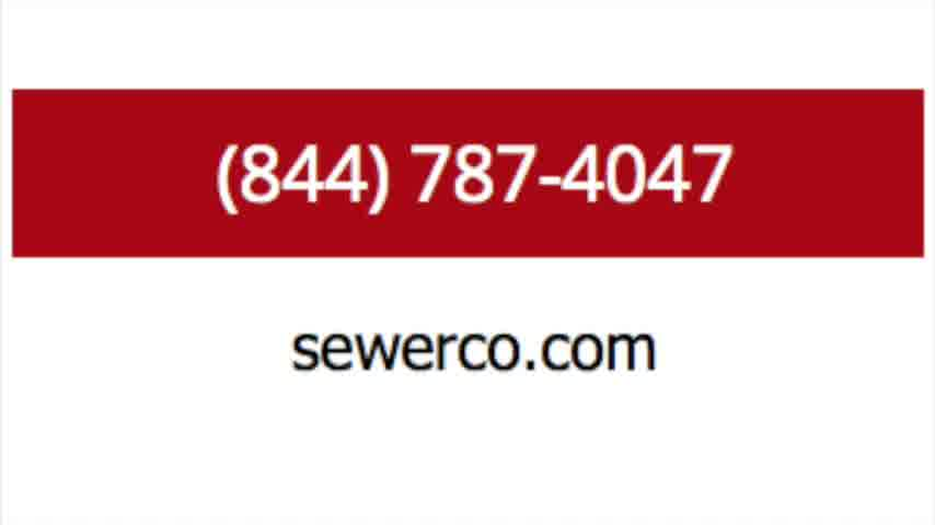 trenchless sewer repair and hydro jetting drain cleaning