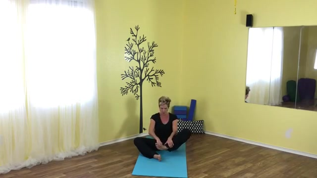 healthy waking up with yoga routine
