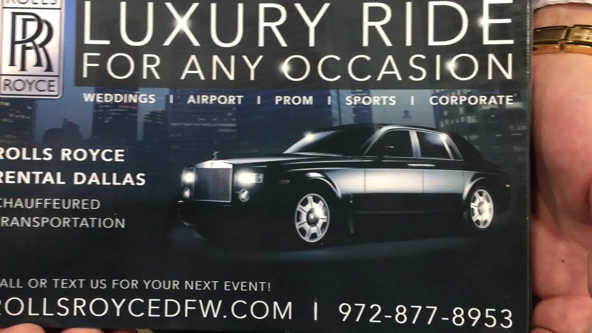 Ghost limo service DFW