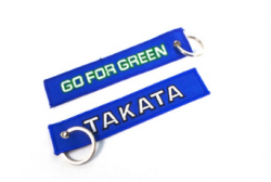 Takata Keychain - Go For Green