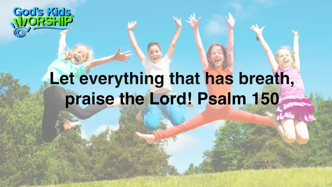 praise songs for children