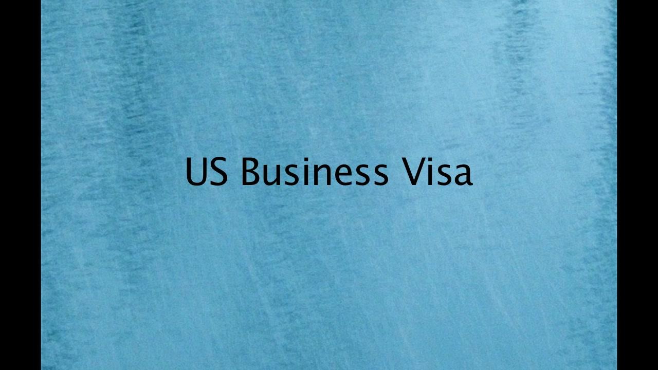 US Buisiness Visa